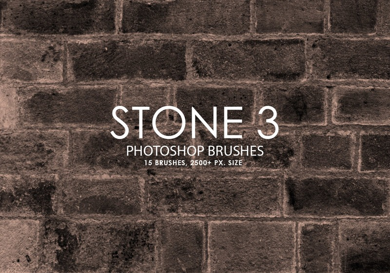 Free Stone Photoshop Brushes 3 Photoshop brush