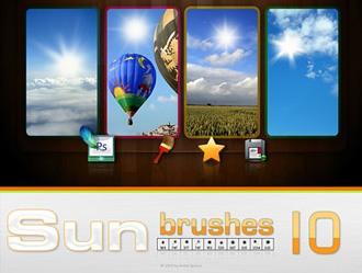 Sun Brushes Photoshop brush