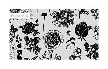Flowers 02 Photoshop brush