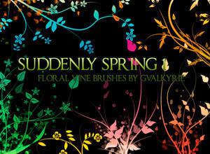 Suddenly Spring Photoshop Brushes Photoshop brush