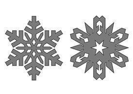 Free Snowflakes Brushes Photoshop brush