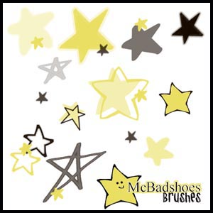 Stars Photoshop brush
