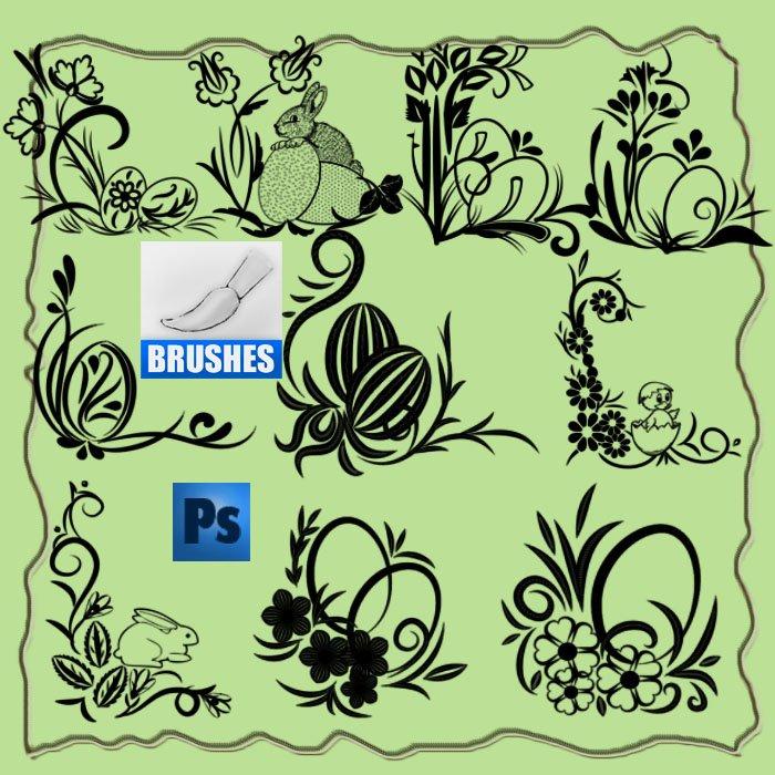 Easter Brushes Photoshop brush