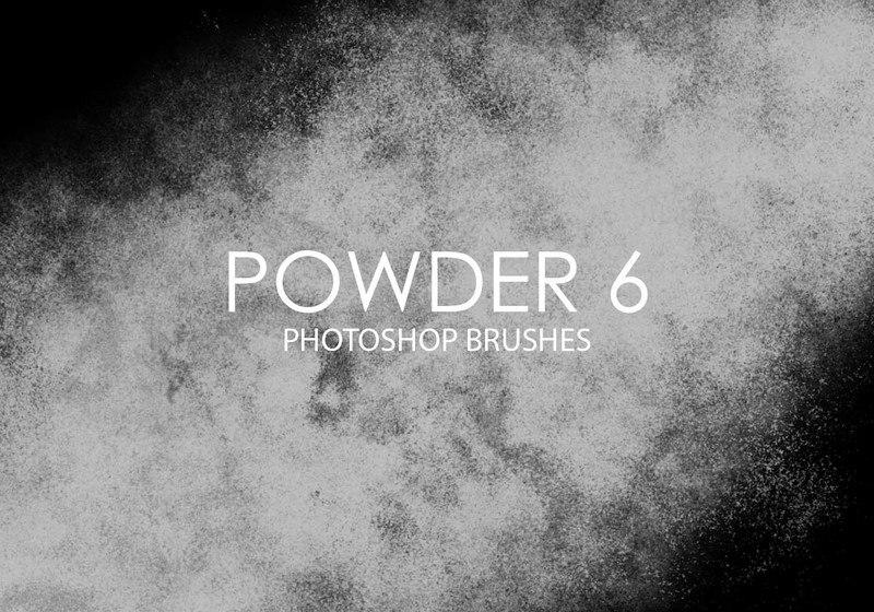 Free Powder Photoshop Brushes 6 Photoshop brush