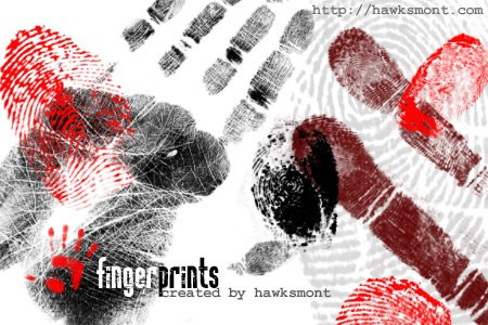 Fingerprints Photoshop brush