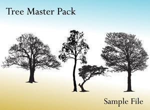Tree Master Pack Photoshop brush