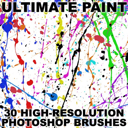 Ultimate Paint  Photoshop brush