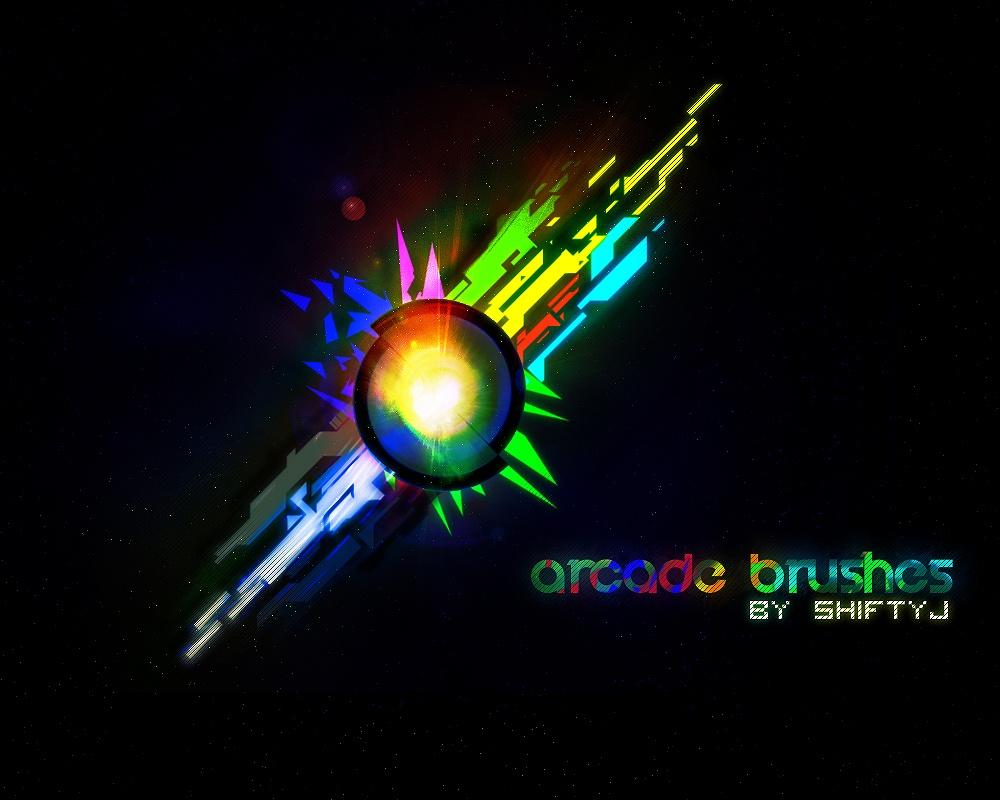 Arcade Brushes Photoshop brush