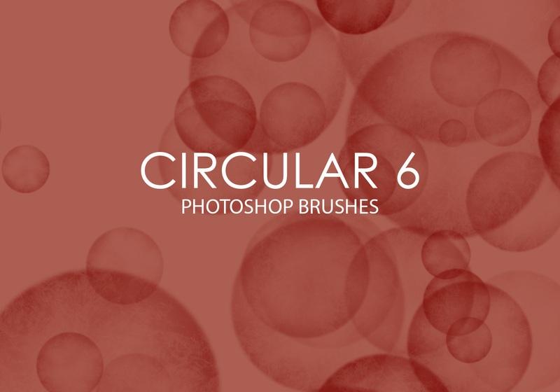Free Circular Photoshop Brushes 6 Photoshop brush