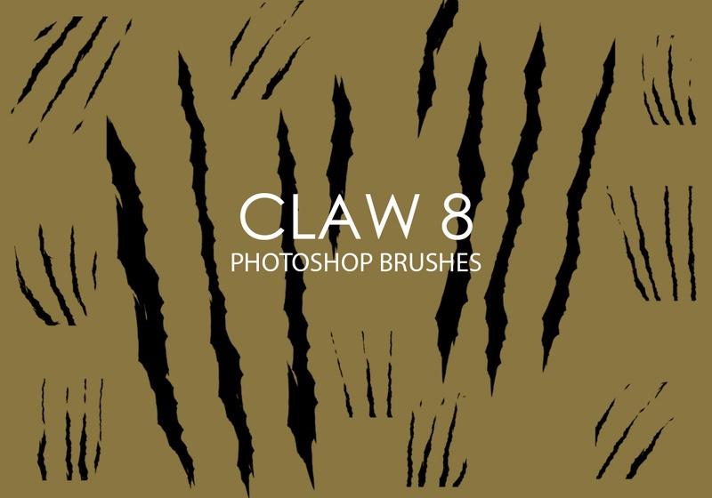 Free Claw Photoshop Brushes 8 Photoshop brush