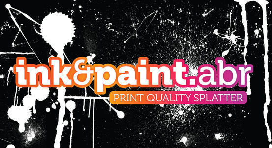 Ink & Paint - Print Quality Photoshop brush