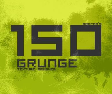 Grunge Texture Brushes  Photoshop brush