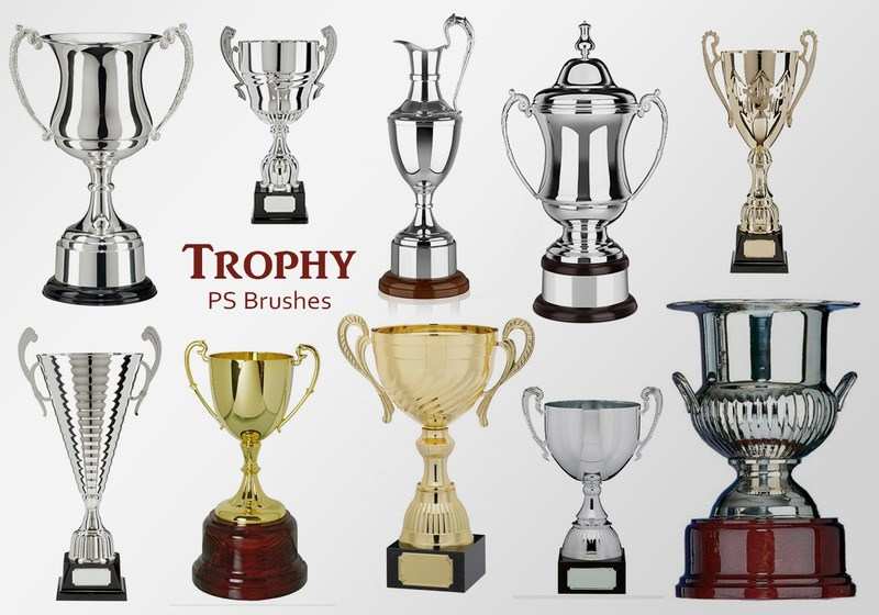 20 Trophy PS Brushes abr.vol.9 Photoshop brush