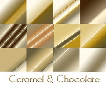 Caramel and Chocolate Photoshop brush