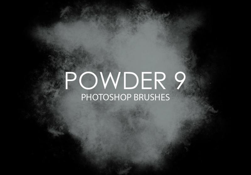 Free Powder Photoshop Brushes 9 Photoshop brush