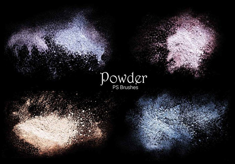 20 Powder PS Brushes.abr Vol.4 Photoshop brush