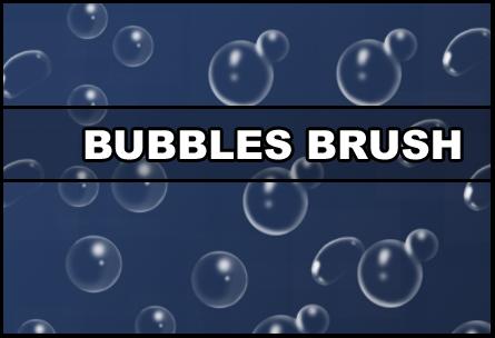 Bubbles brush Photoshop brush