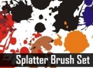 Splatters Brush Set Photoshop brush