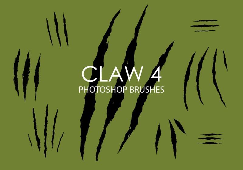 Free Claw Photoshop Brushes 4 Photoshop brush