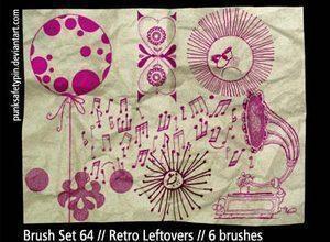 Retro Photoshop Brushes Photoshop brush