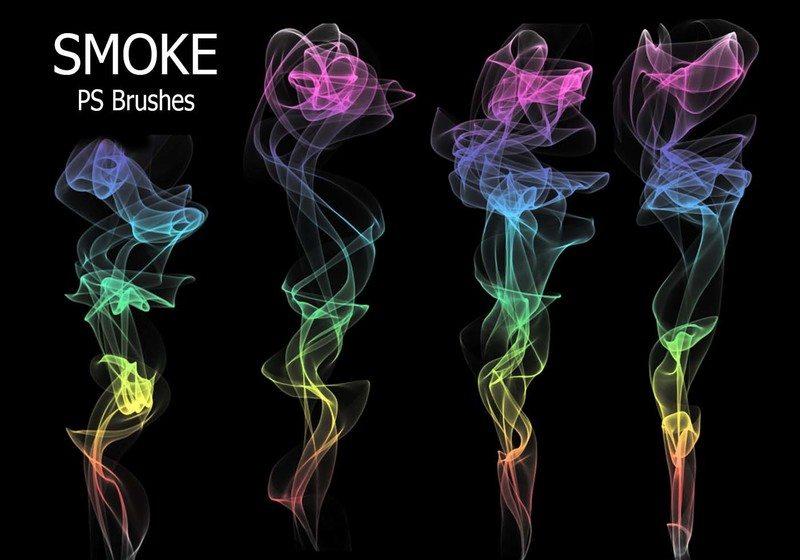 20 Smoke PS Brushes abr. Vol.9 Photoshop brush