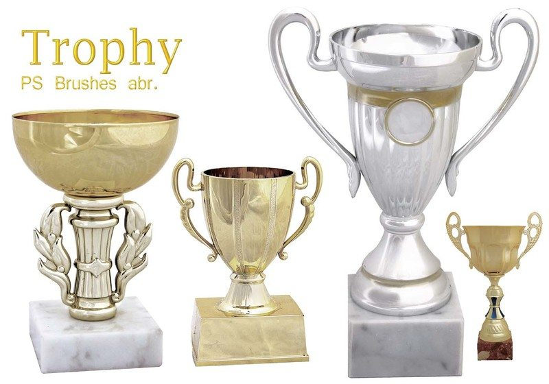 20 Trophy PS Brushes abr. vol.3 Photoshop brush