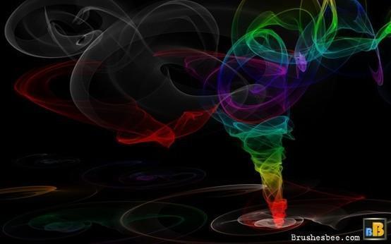 Twister fractal brushes  Photoshop brush