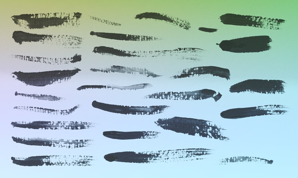 25 More Paint Brushes PS CS3 Photoshop brush