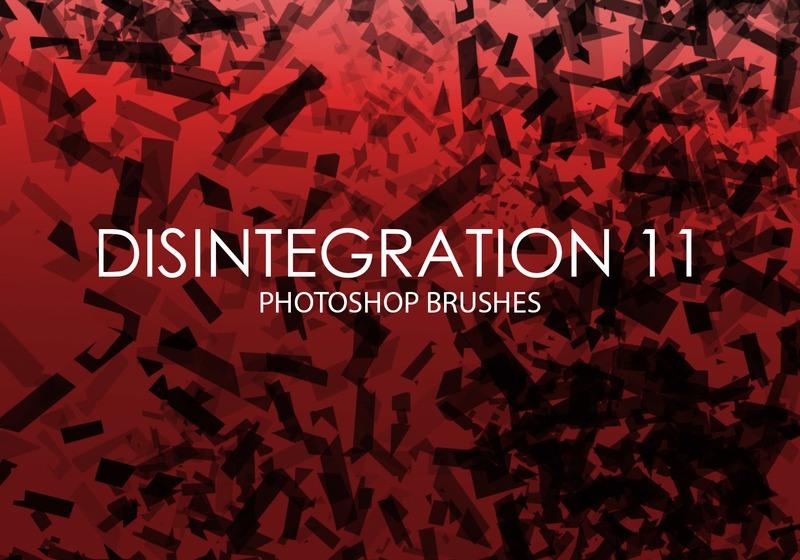 Free Disintegration Photoshop Brushes 11 Photoshop brush