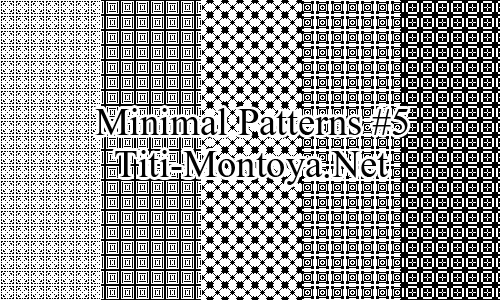 Minimal Patterns #5 Photoshop brush