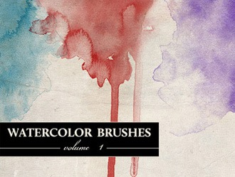 20 Free Watercolor Brushes Photoshop brush