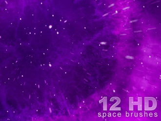 HD Space Brushes V1 Photoshop brush