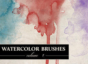 WG Watercolor Brushes Vol1 Photoshop brush