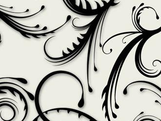 Spiky Swirl Brushes Photoshop brush