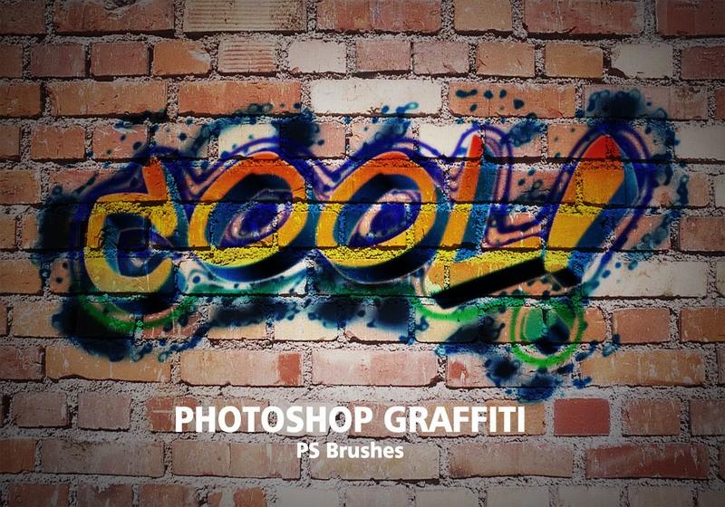 20 Graffiti PS Brushes abr. Vol.1 Photoshop brush