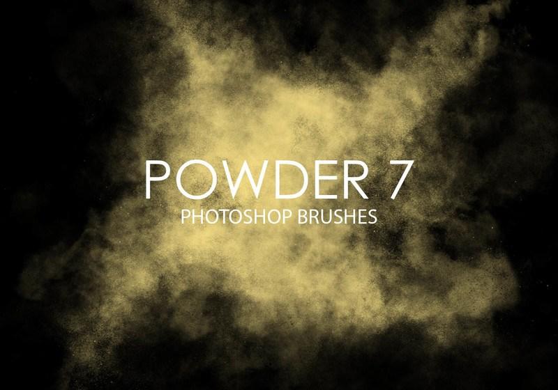 Free Powder Photoshop Brushes 7 Photoshop brush