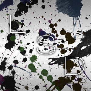 Ink Splatter Streaks Photoshop brush