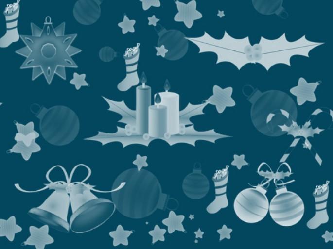 Christmas Decorations Photoshop brush