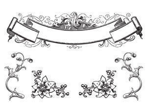 Free Antique Ornaments & Scroll Brushes Photoshop brush