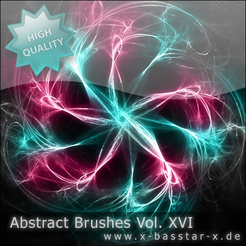 Abstract Brushes vol. 16 Photoshop brush