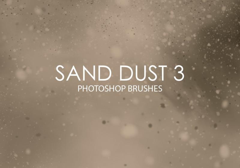 Free Sand Dust Photoshop Brushes 3 Photoshop brush