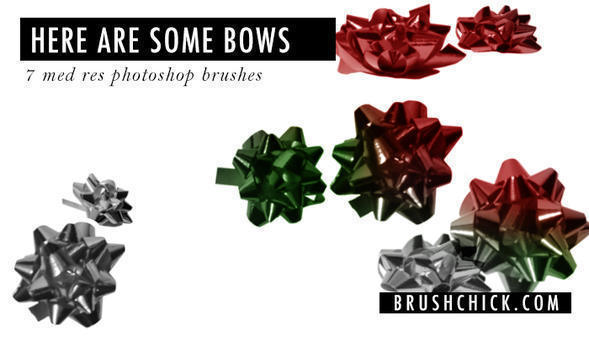 Here Are Some Bow Brushes Photoshop brush
