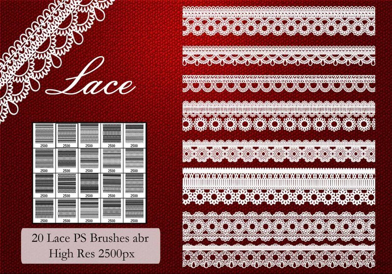 Lace PS Brushes  Photoshop brush