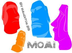 Moai Brushes Photoshop brush