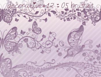 Decorative Brushes 12 Photoshop brush