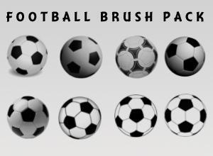 Football Brushes Photoshop brush