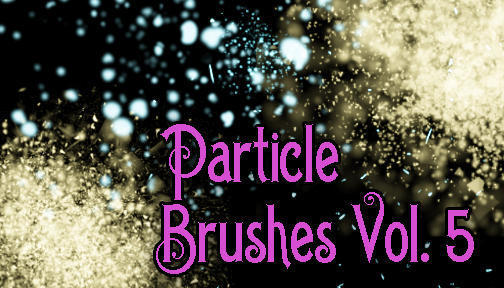 Hi-Res Particle Brushes Vol. 5 Photoshop brush