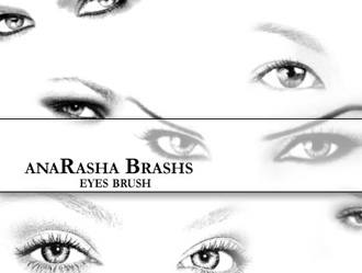Eyes Photoshop brush