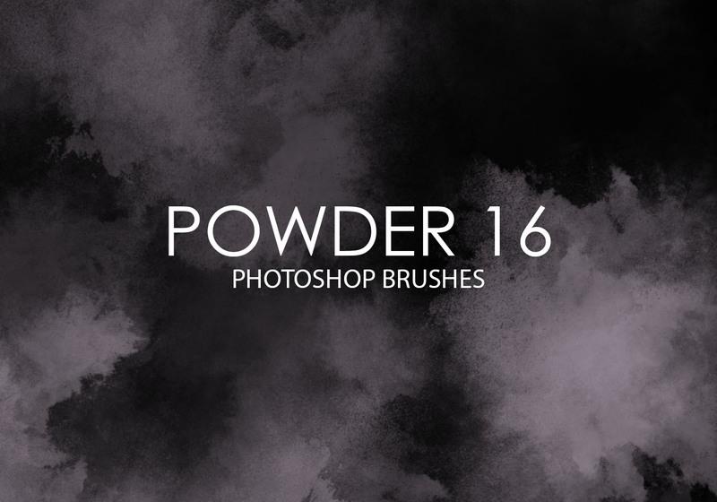 Free Powder Photoshop Brushes 16 Photoshop brush
