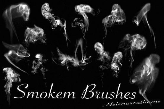 Smokem Brushes Photoshop brush